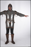 Photos Medieval Guard in mail armor 2