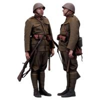 Cleaned 3D scan Petr Herman Army Czechoslovak Standing 07