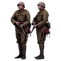 Cleaned 3D scan Petr Herman Army Czechoslovak Standing 08