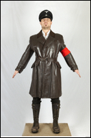 Photos Germany Gestapo Soldier in leather suit 1