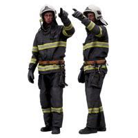 Cleaned 3D scan Sam Atkins Fireman Standing 16