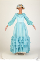 Photos Woman in Historical Civilian dress 5