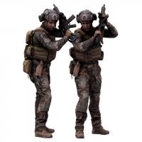 Cleaned 3D scan Casey Schneider Army Dry Fire Suit Melee