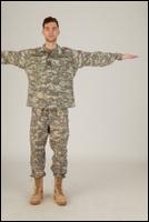 Photos Army Man in Camouflage uniform 3